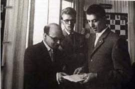 1960 Mar del Plata Friðrik, Bronstein og Fischer