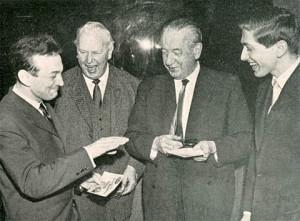 1962 Stokkhólmur - Korchnoi og Fischer