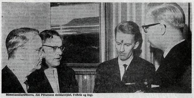 1964_Reykjavikurskakmotid_Menntamalaradherra_Aki-Petursson_Fridrik-Olafsson_Ingi-R-Johannsson