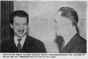 1964_Reykjavikurskakmotid_Menntamalaradherra_Gligoric_Thordur-Einarsson
