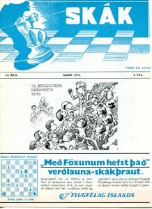1974 Reykjavíkurmótið - mynd