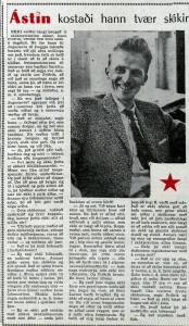 1959 Sarpur - Astin kostaði hann 2 skákir